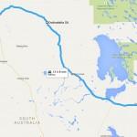 Map Oodnadatta Track